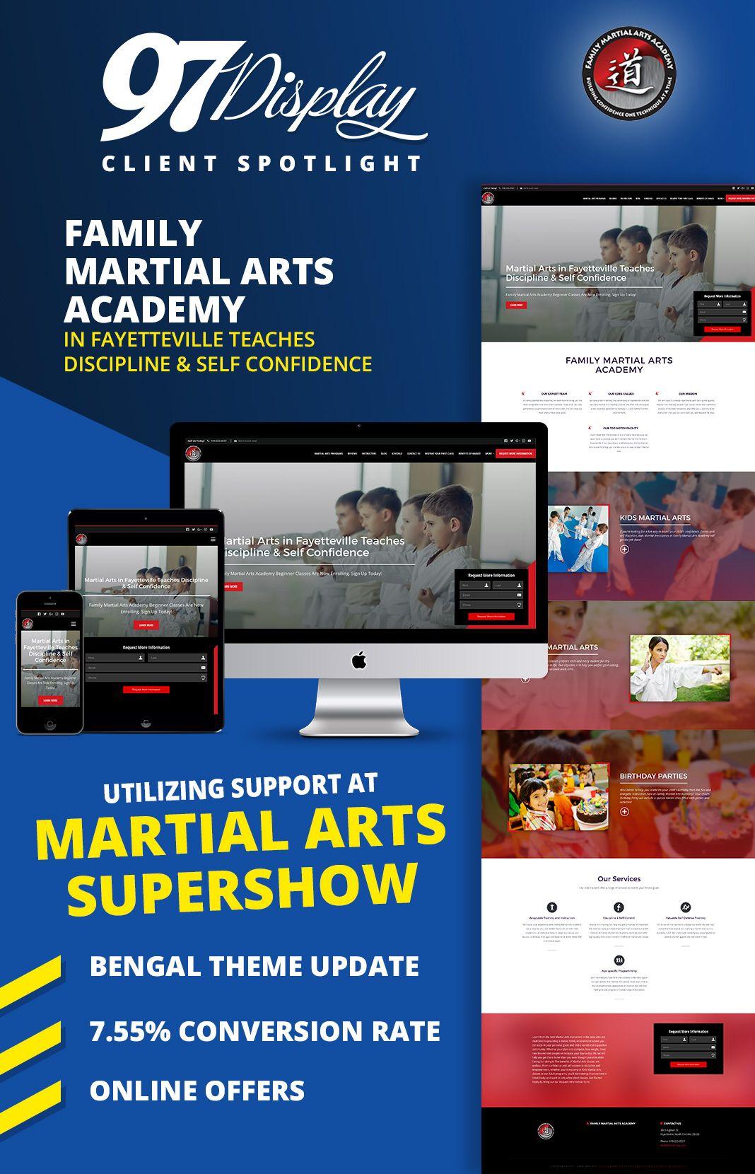 martial arts websites july client spotlight